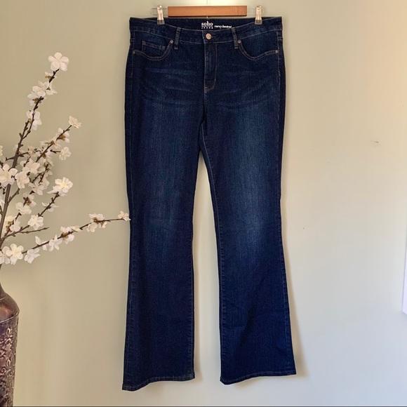 New York & Company Denim - New York & Company Soho Curvy Bootcut Jean Size 14
